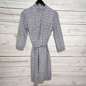 NWT Lilly Pulitzer Brinkley Shirt Dress Navy 6